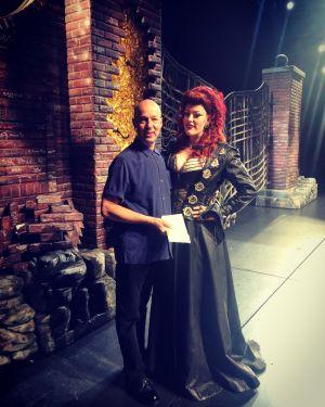 With Tony Edge (director)