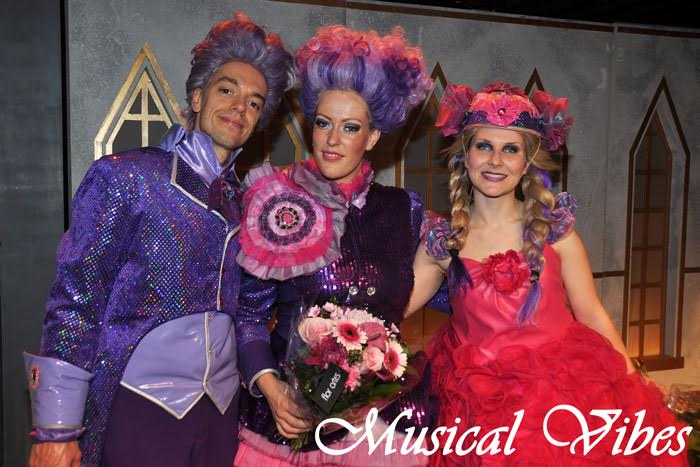 Backstage at Cinderella Belgium